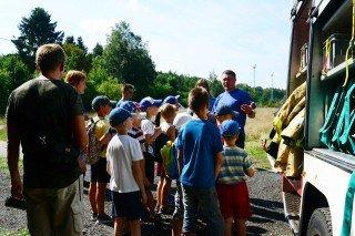 О работе пожарной части г. Светлогорска