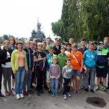 На военной базе в Балтийске