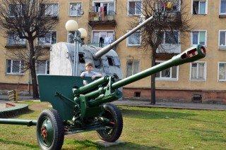 г. Советск. Музей боевой техники