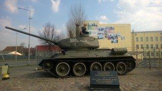 (г. Советск) Танк Т-34