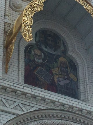 внешние росписи Морского Никольского собора